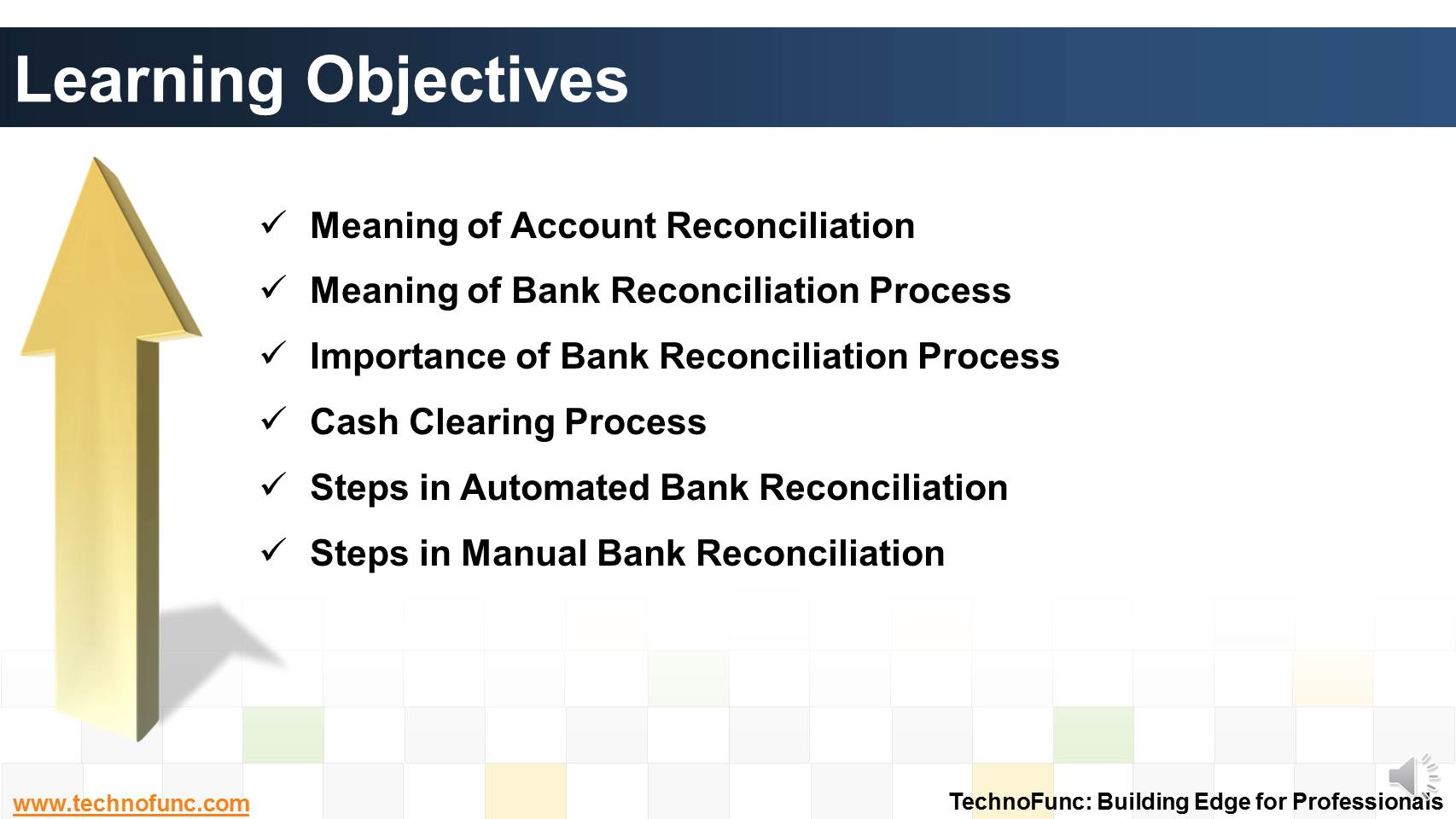 Technofunc Introduction To Bank Reconciliation Process